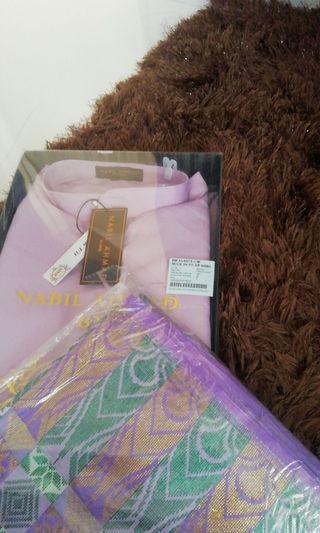 Baju Melayu Modern Slim Fit /zip (Nabil Ahmad)