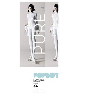 Threea Popbot Pure Lady Sham (pls read description)