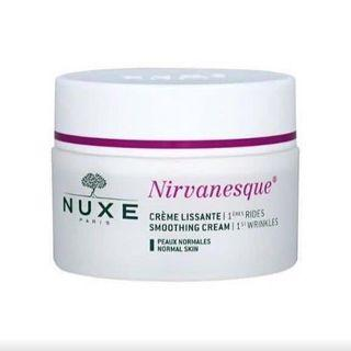 Nuxe smoothing cream (left 70%)