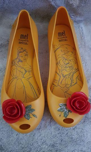 Melissa shoes beauty and the beast