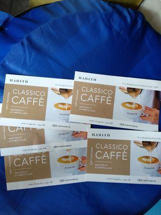 HABITU咖啡券