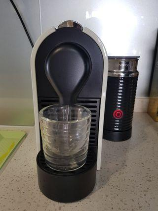 🚚 *Free Delivery* Nespresso U Milk Coffee Machine with milk frother - fixed price