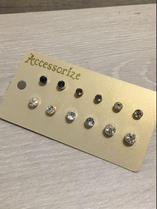 Accessorize Diamanté Earrings