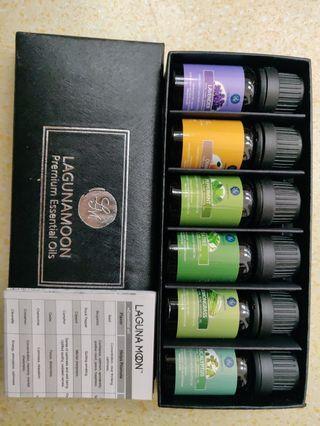 Lagunamoon premium essential oil. 精油禮盒組