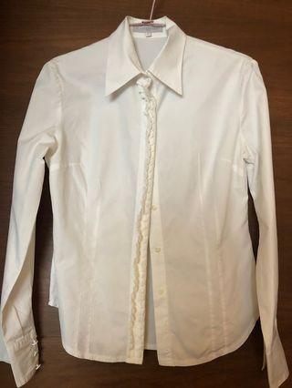 Alain Figaret White Shirt