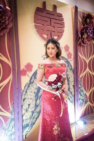 Sangjit Mermaid Dress