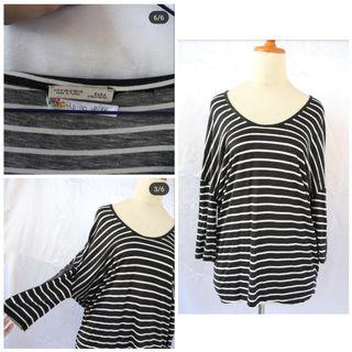 striped top zara