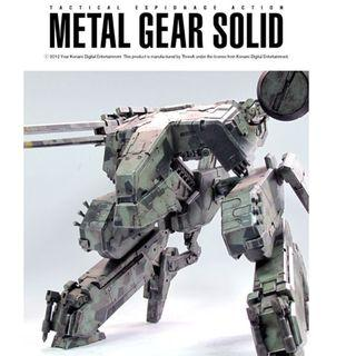 Threea Metal Gear Solid Rex 1/48 Bambaland set (pls read description)