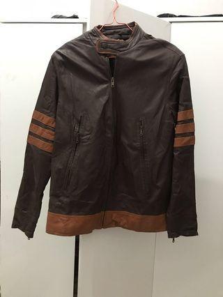 Jaket kulit asli ..beli 1.250.000 jual murah aja masih mulus
