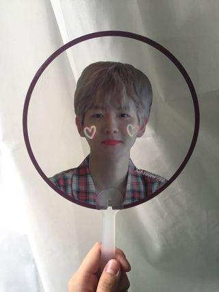 EXO Baekhyun transparent fan