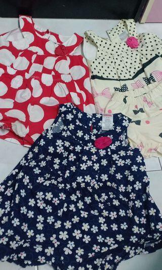 Combo Dress baby girl