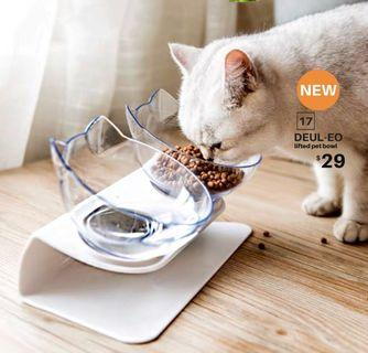 【BRAND NEW/NEW ARRIVAL】DEUL-EO lifted pet bowl