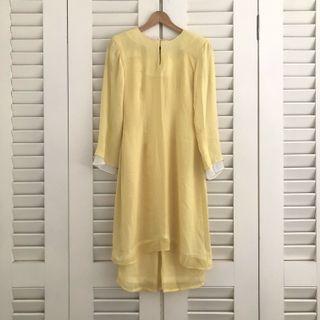 Baju Kurung Moden (Chiffon with lining) #GayaRaya #CarouRaya #petite