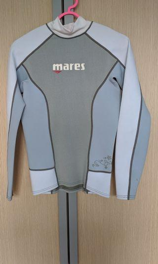 Mares Women's Trilastic Rash Guard Shirt Long Sleeve