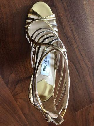 Jimmy Choo strappy shoes