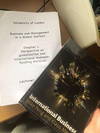 BMGC Business Management in Global Context UOL