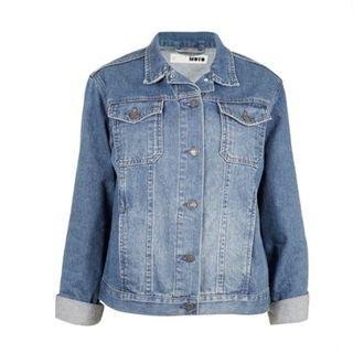 (UK10) Authentic Topshop Blue Denim Jacket