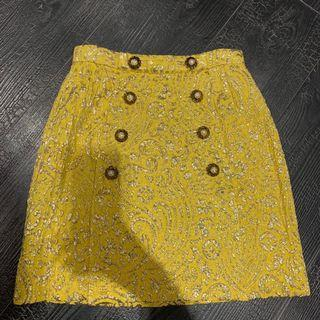 Dolce&Gabbana 寶石扣半裙