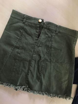 🚚 Denim Skirt