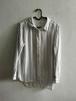 Uniqlo Striped Blouse