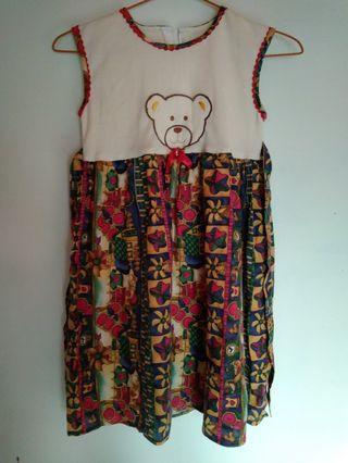 #mauvivo Dress Anak Teddy
