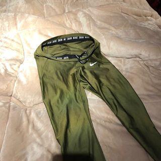 Nike Green Leggings Yoga Pants size small