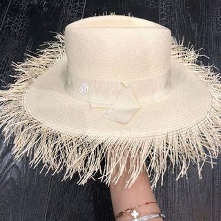 Maison Michel 白色草帽