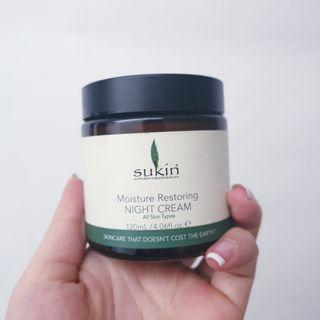 FREE ONGKIR Sukin night moisturizer