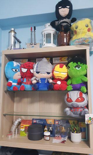 Marvels plushies set of 7