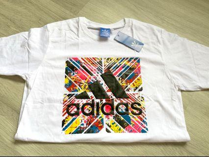 Adidas white Size L instock