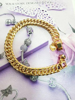 24k Gold Plated Sajat Bracelet