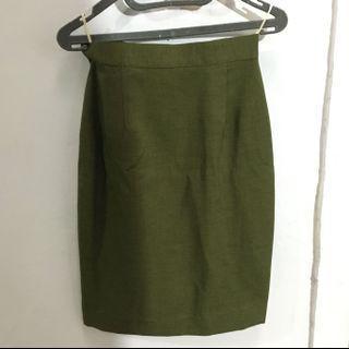 #BAPAU green skirt