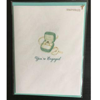 """Brand New """"You're Engaged"""" Card"""