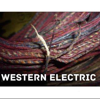 Western Electric raw NOS Vintage wires