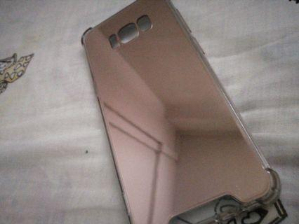 🚚 Samsung S8 Mirror (effect) case - Rose Gold in colour