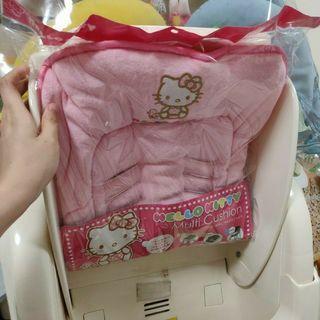 粉紅色KITTY 三用替換墊 毛巾料 現貨 可用於推車 / car seat / high chair
