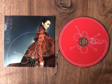 (包郵) 梁詠琪 GIGI LEUNG G FOR GIRL (2001) #裸碟 CD唱片