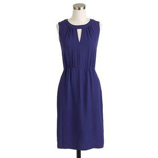 Jcrew blue dress size 00