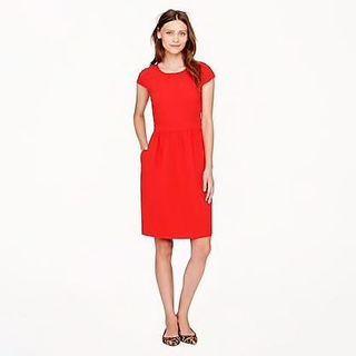 Jcrew 紅色連身裙 red Dress size 00