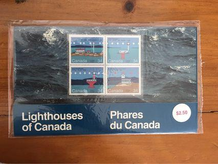 Canada Mint Stamps Presentation Pack - Lighthouses Of Canada