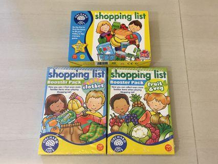 BN & PL Orchard Toys Shopping List