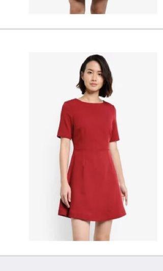 Zalora Flare Dress