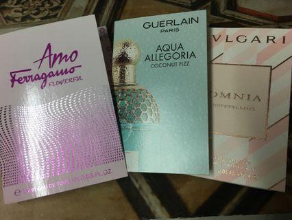 BV/ Ferragamo-Perfume set (50$f0r 3)包郵