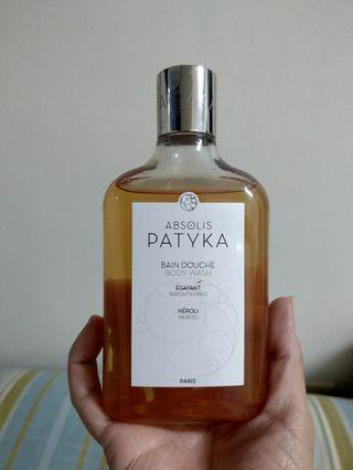 🚚 Patyka橙花醒膚沐浴露