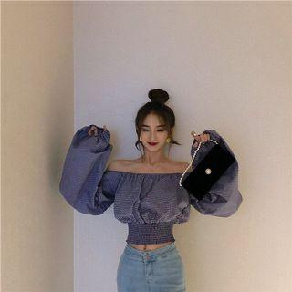 Off Shoulder Top Korean