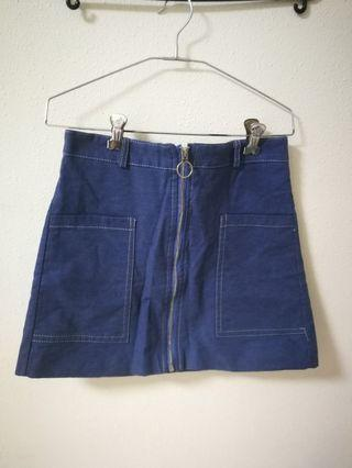 🚚 Blue Denim Skirt