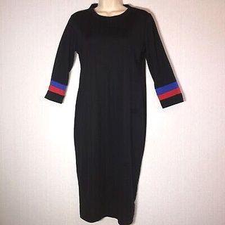 [BNWT] Zara Black Midi Dress