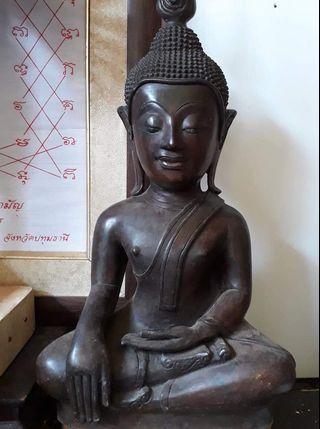 "Thai Amulet Phra Chiang Rung Hua Toh 9"" Bucha Base 9"" High 19"""