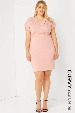 [Nego](Size XXL!) Paper Dolls London Kimono Dress in Dusty Pink #Paradigm