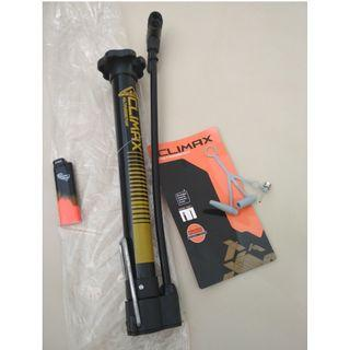 CLIMAX mini alloy bicycle tire floor pump